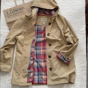 LL Bean Mackintosh Coat